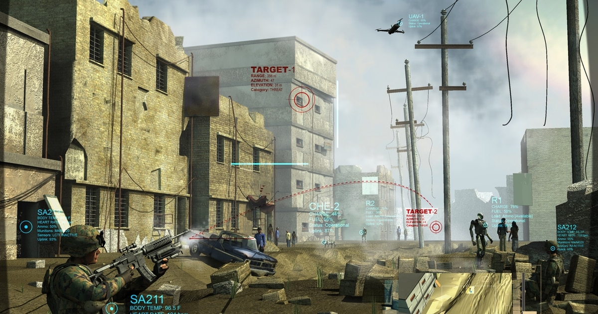 DARPA program blending robots in the squad to find and destroy threats