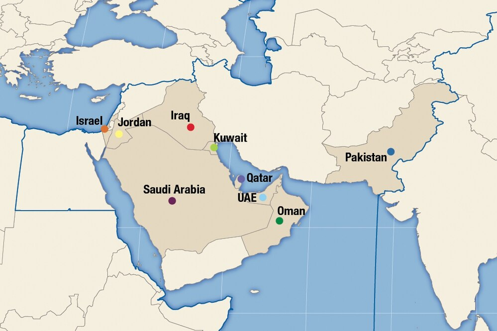 As countries in the Middle East look to missile defense as a means of defending border and the homeland amid turmoil in the region, system type and investment amount vary – with Qatar standing out as the biggest spender among countries in the region.