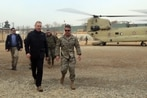 Pentagon weighs troop cuts as Shanahan makes surprise visit to Afghanistan