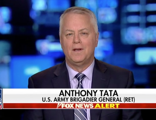Retired Brig. Gen. Anthony Tata, a Fox News contributor, is President Donald Trump's nominee to lead the Pentagon's policy shop.