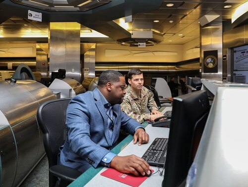 The Army has created an official cyberspace effects position for civilians, the equivalent of their uniformed counterparts. (Joy Brathwaite/Army)