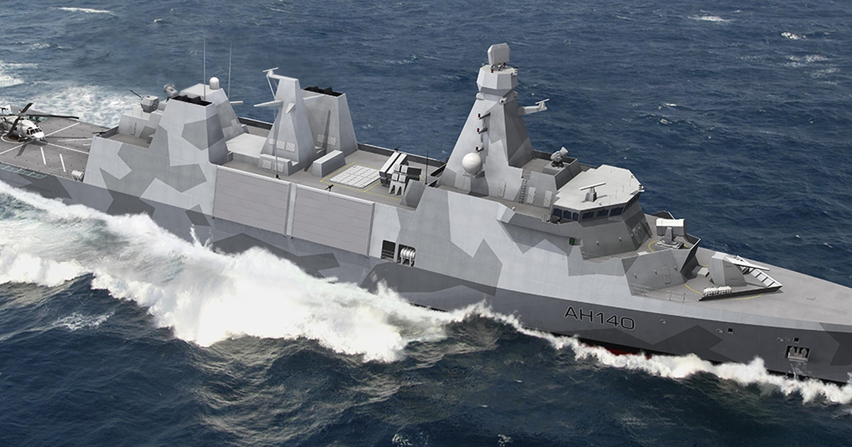 Britain goes with Danish design for new Navy frigates
