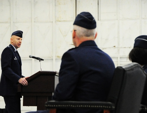 Col. Bradley Barnhart has been named DISA's new chief of staff, the agency announced Aug. 6. (Staff Sgt. Matt Davis/Air Force)