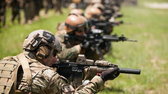 Special operations forces numbers are higher than they have ever been, but leaders in that community want Congress to approve their highest budget request ever made to increase the force by more than 1,000 troops. (Staff Sgt. Osvaldo Equite/Army)