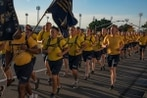 How a popular running app reveals the discreet routines of life on base