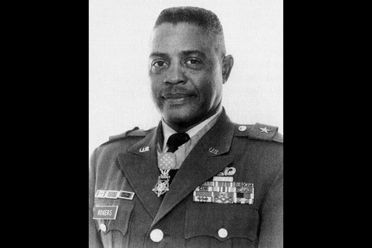 Charles Rogers, who retired from the Army as a major general, is a Medal of Honor recipient. (Army via Wikimedia Commons)