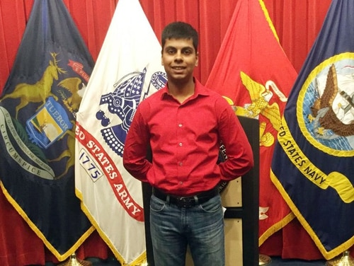 Raheel Siddiqui died at Parris Island on March 18, 2016.