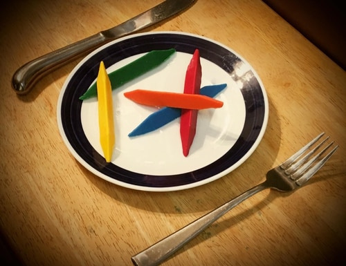 Crayons Ready to Eat are every Marine's dream. (Courtesy of Frank Manteau)