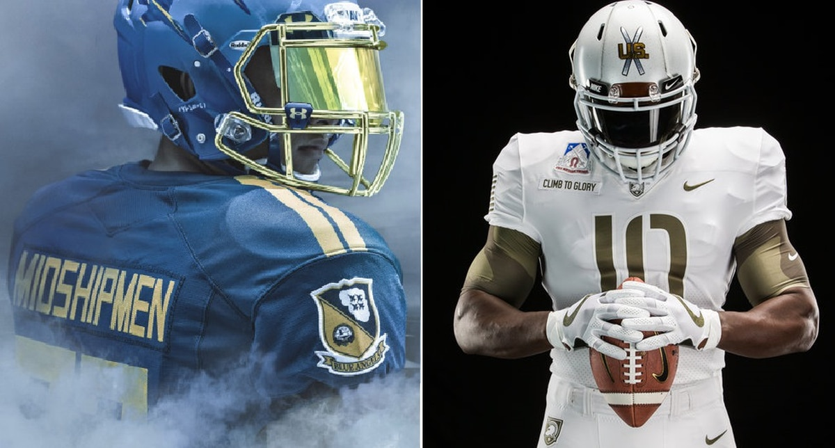 Army Navy Game 2017 Uniforms >> Army-Navy uniform poll: Who's got the best gear?