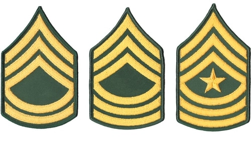 The Army has announced names of senior enlisted soldiers who will be promoted.