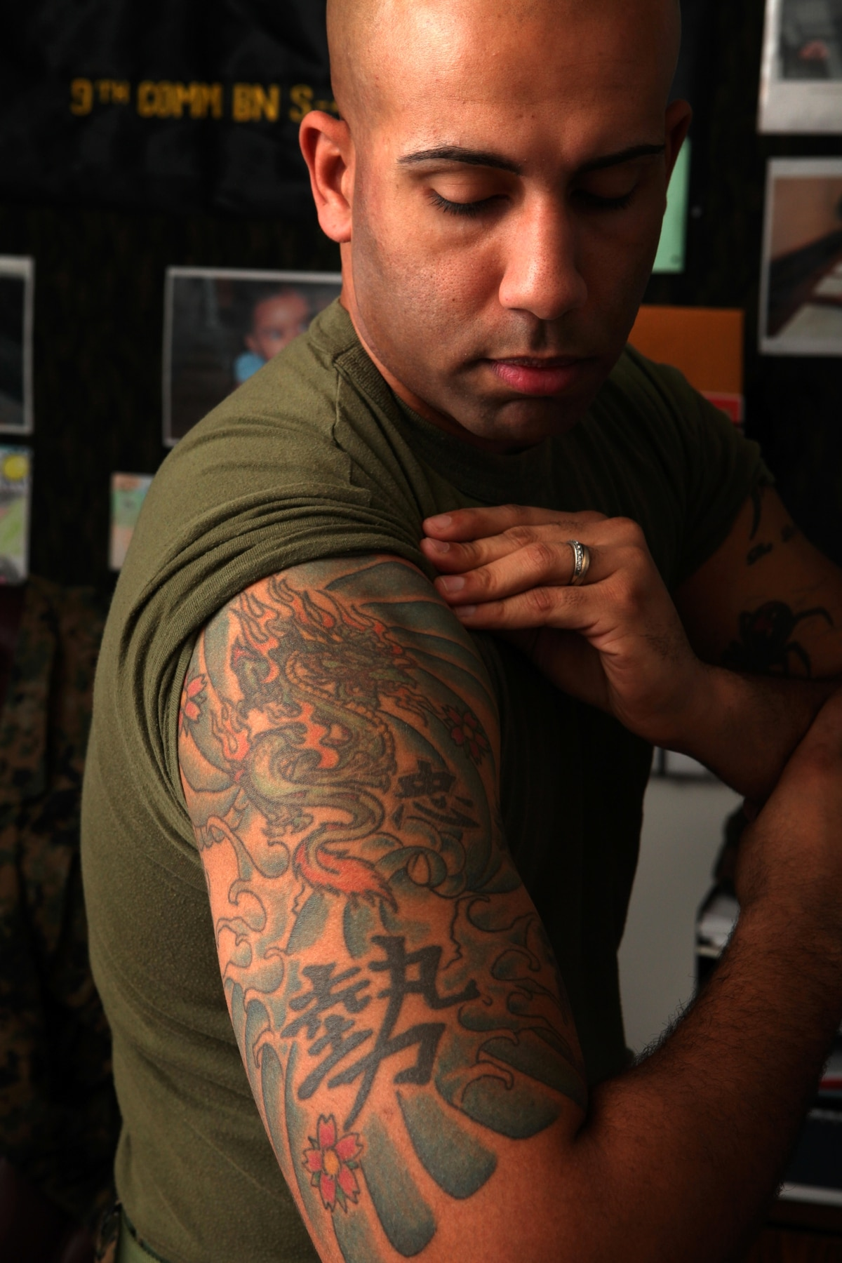 Marine corps to update its tattoo policy after review for Army tattoo policy wrist