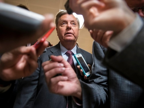 Sen. Lindsey Graham, R-S.C., is the Senate's lead appropriator for the U.S. State Department and a member of the Senate Armed Services Committee. (J. Scott Applewhite/AP)