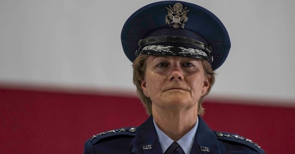 Gen. Maryanne Miller, Air Mobility Command commander, assumed command of AMC on Sept. 7. (Tech. Sgt. Jodi Martinez/Air Force)