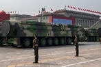 China unveils drones, missiles and hypersonic glide vehicle at military parade