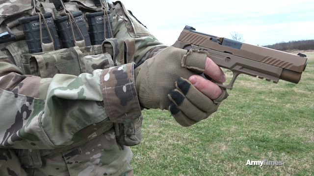 Here's how the Army fixed your handgun problem