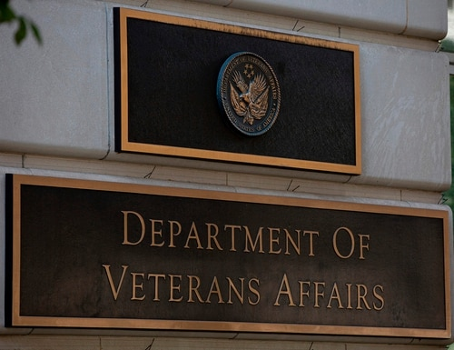 The Department of Veterans Affairs and its largest employee union signed an agreement July 20 to set aside conflicts during the Trump administration to come to a new collective bargaining agreement. (Alastair Pike/AFP via Getty Images)