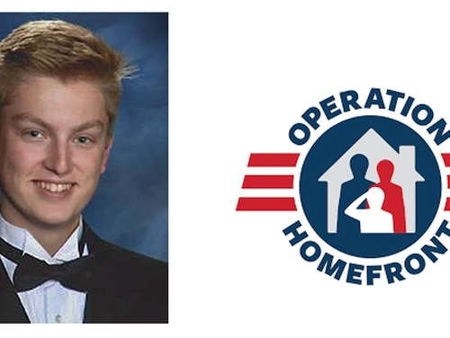 Roark Corson, Operation Homefront's 2018 Military Child of the Year honoree representing the Coast Guard. (Courtesy of Operation Homefront)