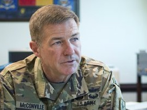 Gen. James McConville, the vice chief of staff of the Army, has played a key role in developing the new Army Futures Command. (Army)