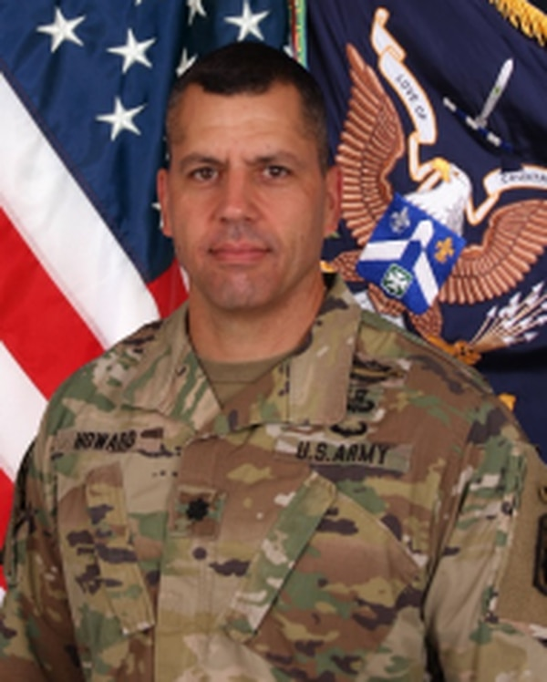 Lt. Col. Robert Howard was relieved as commander of 2nd Battalion, 58th Infantry Regiment, 198th Infantry Brigade at Fort Benning, Georgia, for loss of confidence in his ability to command (U.S. Army photo).