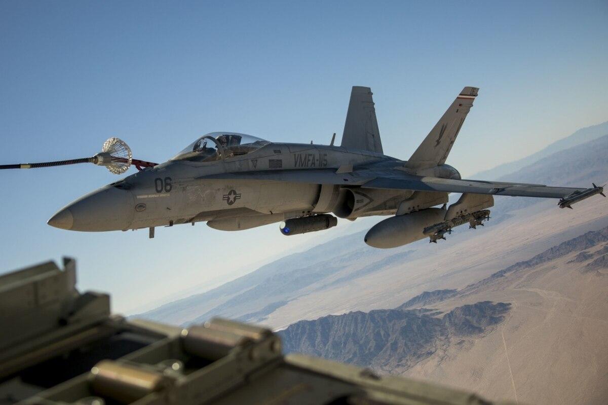 F/A-18C Hornet crash result of 'below average' pilot's error