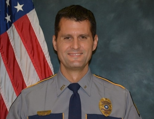 First Sgt. Casey J. Hart died in June after suffering an injury the month prior in Syria. (Baton Rouge Police Department)