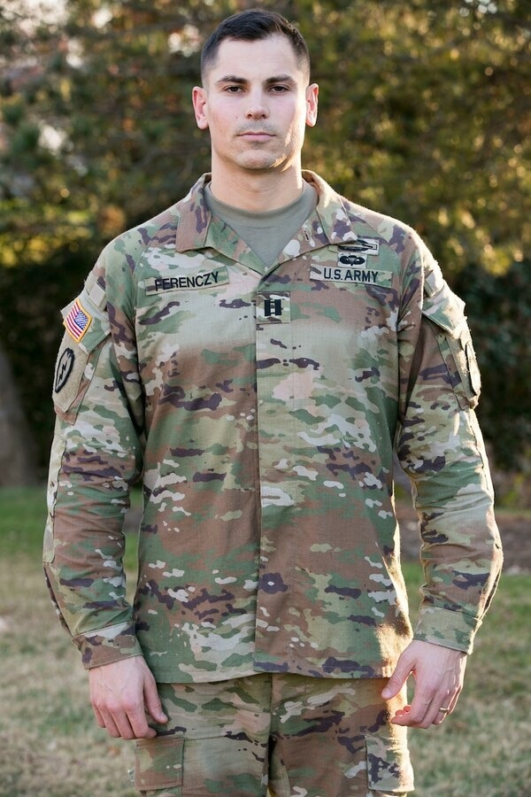 This is one early prototype of one of the Army's newest items, the Improved Hot Weather Combat Uniform. The first difference is a lack of breast pockets. (Army)