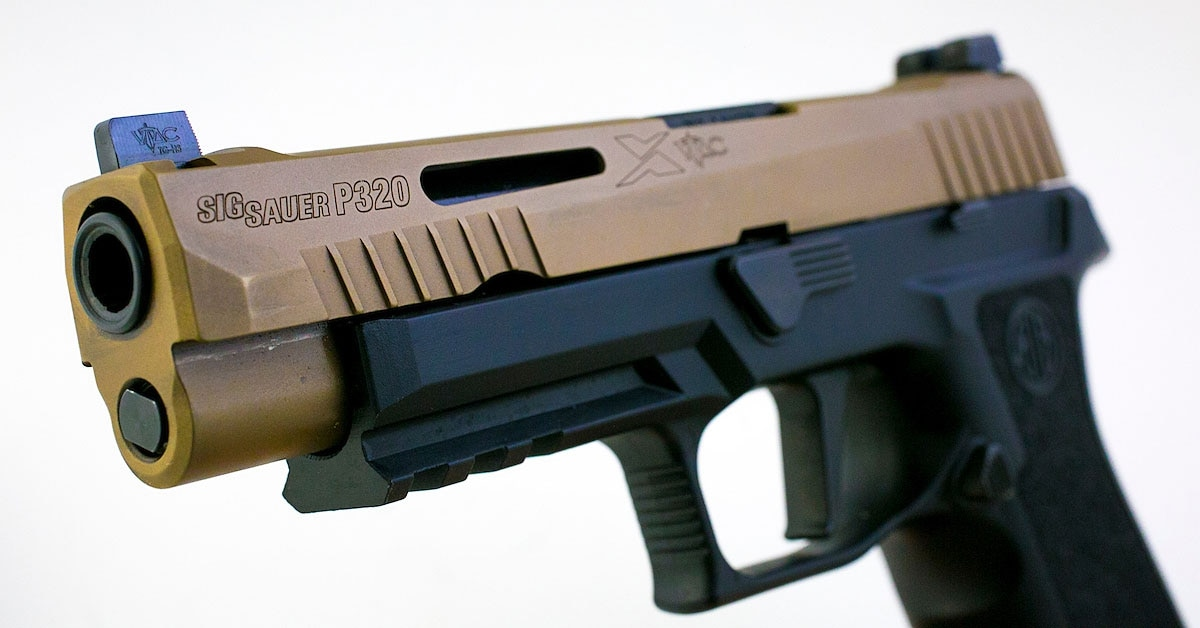 This 'custom' handgun from Sig makes a statement on (and off) the range