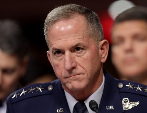 Air Force Chief of Staff Gen. David Goldfein testifies before the Senate Armed Services on Capitol Hill December 03, 2019 in Washington, DC. (Chip Somodevilla/Getty Images)