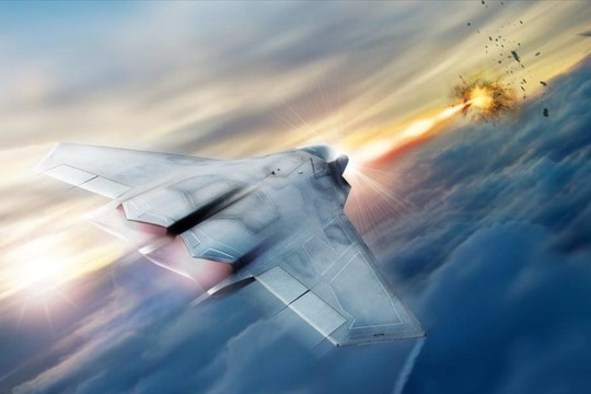 Lockheed Martin is developing one of three subsystems for the Air Force Research Laboratory's Self-Protect High Energy Laser Demonstrator (SHiELD), a laser weapon to be installed on a fighter jet. (Lockheed Martin)