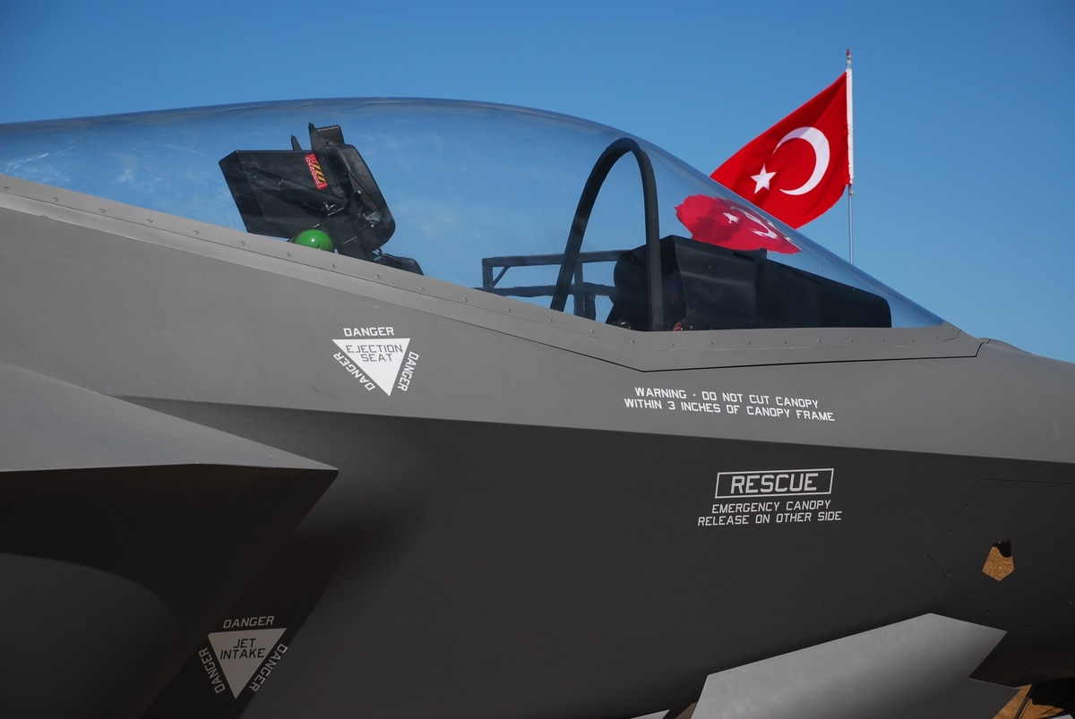 Turkish suppliers to be eliminated from F-35 program in 2020