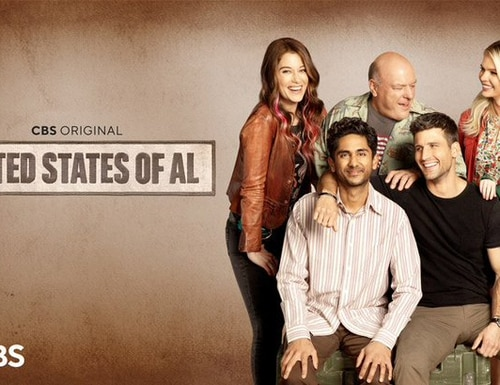 CBS has a new sitcom, United States of Al,