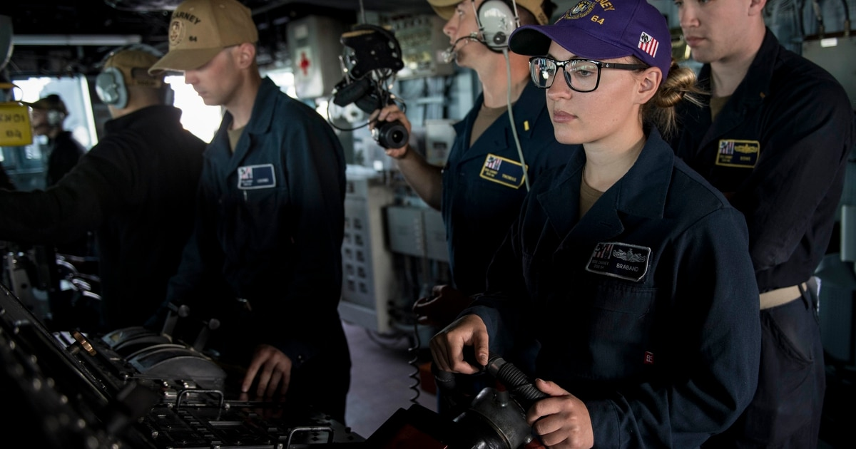 How the Navy got to be 6K sailors short at sea