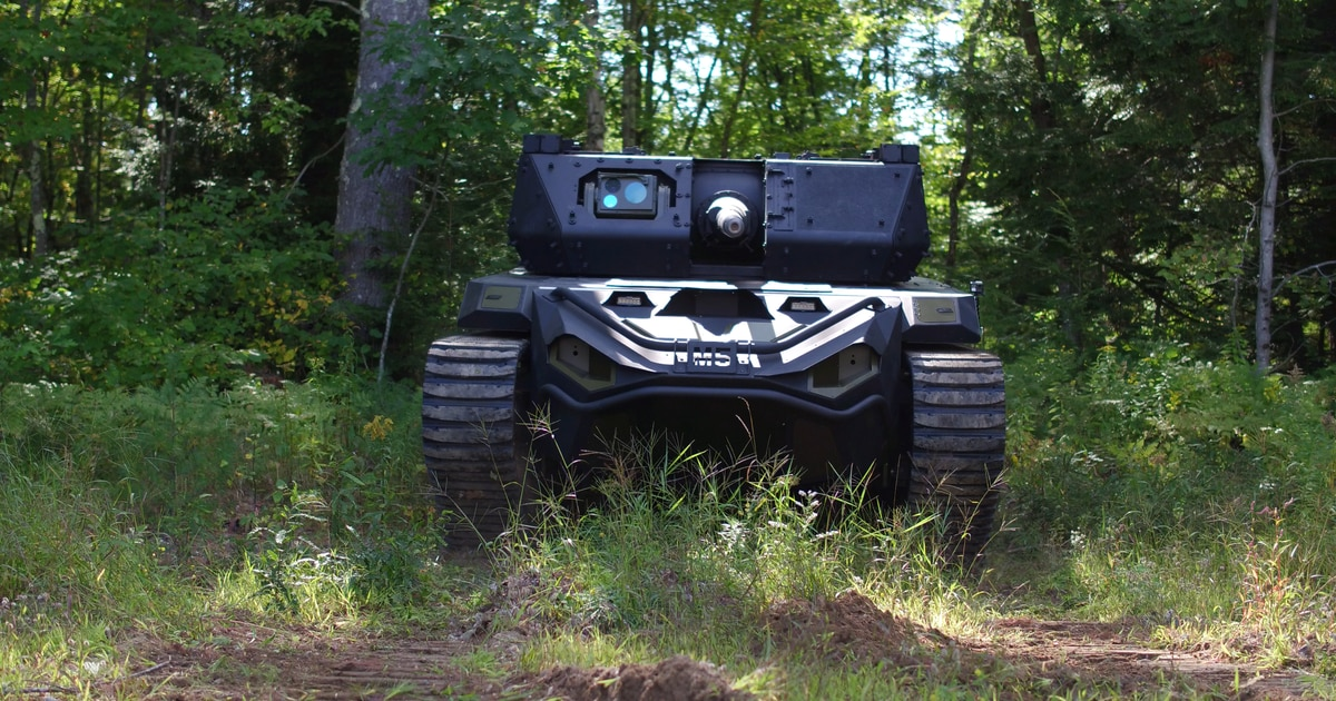 The field narrows in light robotic combat vehicle competition