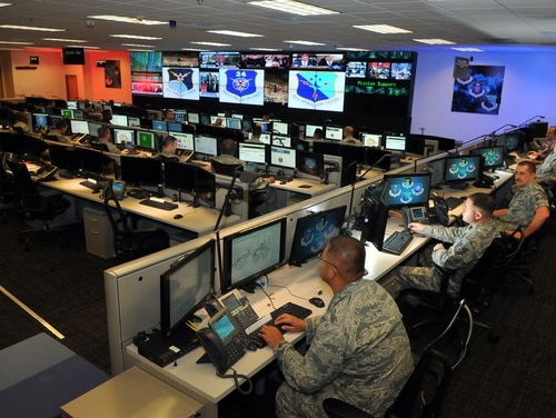 Cyber Command's cyber mission force is now fully manned. (William Belcher/Air Force)