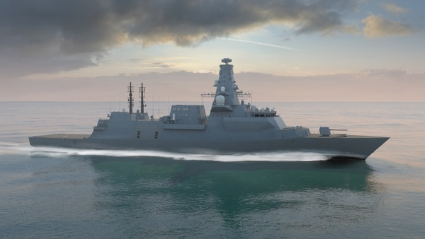 A rendering of BAE Systems' Type 26 Global Combat Ship. (BAE Systems)