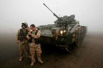 Defense panel rips into British Army over 'deplorable' state of armored vehicles
