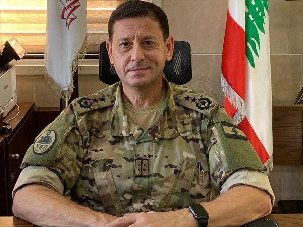 Senior Capt. Haissam Dannaoui is the head of Lebanon's Navy. (Courtesy of the Lebanese Armed Forces)