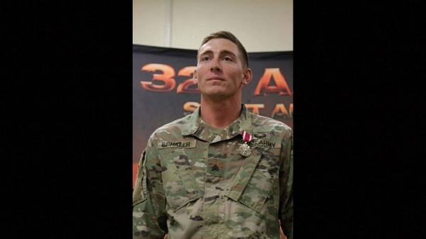 Sphaler previously deployed in support of Operation Enduring Freedom in 2015. (Fort Hood/Twitter)