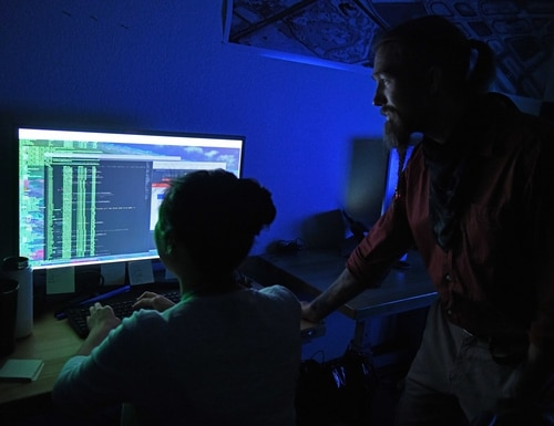 The Air Force's top intelligence officer warned of the dangers of using small or specific sets of data to train algorithms. (Airman 1st Class Luis A. Ruiz-Vazquez/U.S. Air Force)