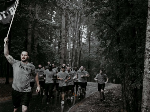 Although the pandemic has temporarily stopped FitOps from training veterans to become personal trainers, the organization has created opportunities for its graduates by partnering with the accountability platform Verb. (Photo courtesy FitOps)