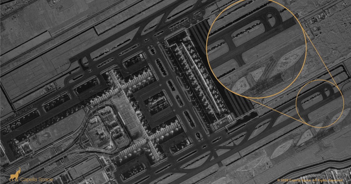 Capella Space unveils new high resolution synthetic aperture radar imagery