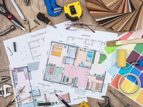 A VA supplemental loan may help cover the cost of some improvements and repairs. (iStock/Getty Images)