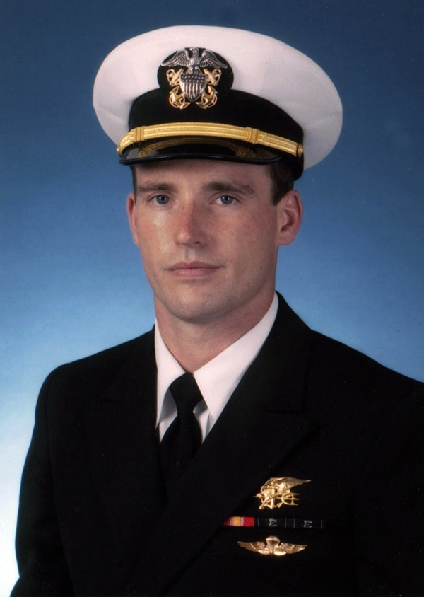 Navy file photo of SEAL Lt. Michael P. Murphy, from Patchogue, N.Y.