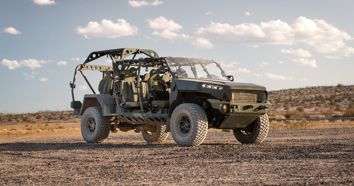 GM Defense wins Infantry Squad Vehicle production contract