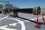 Photos suggest China is prepping to test a electromagnetic railgun at sea