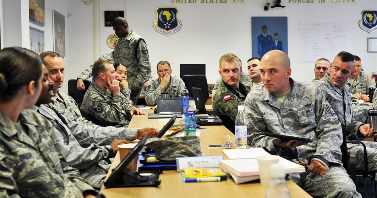 The Air Force Is Replacing Course 15 With A New NCO Distance
