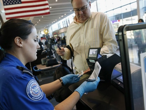 Veterans make up approximately 28 percent of the workforce at the Department of Homeland Security, including the Transportation Security Agency, whose employees are not receiving paychecks during the government shutdown. (AP Photo/Michael Dwyer)