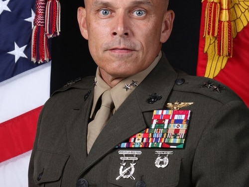 Joint Task Force-Ares gets a new commander. (Courtesy U.S. Marine Corps).