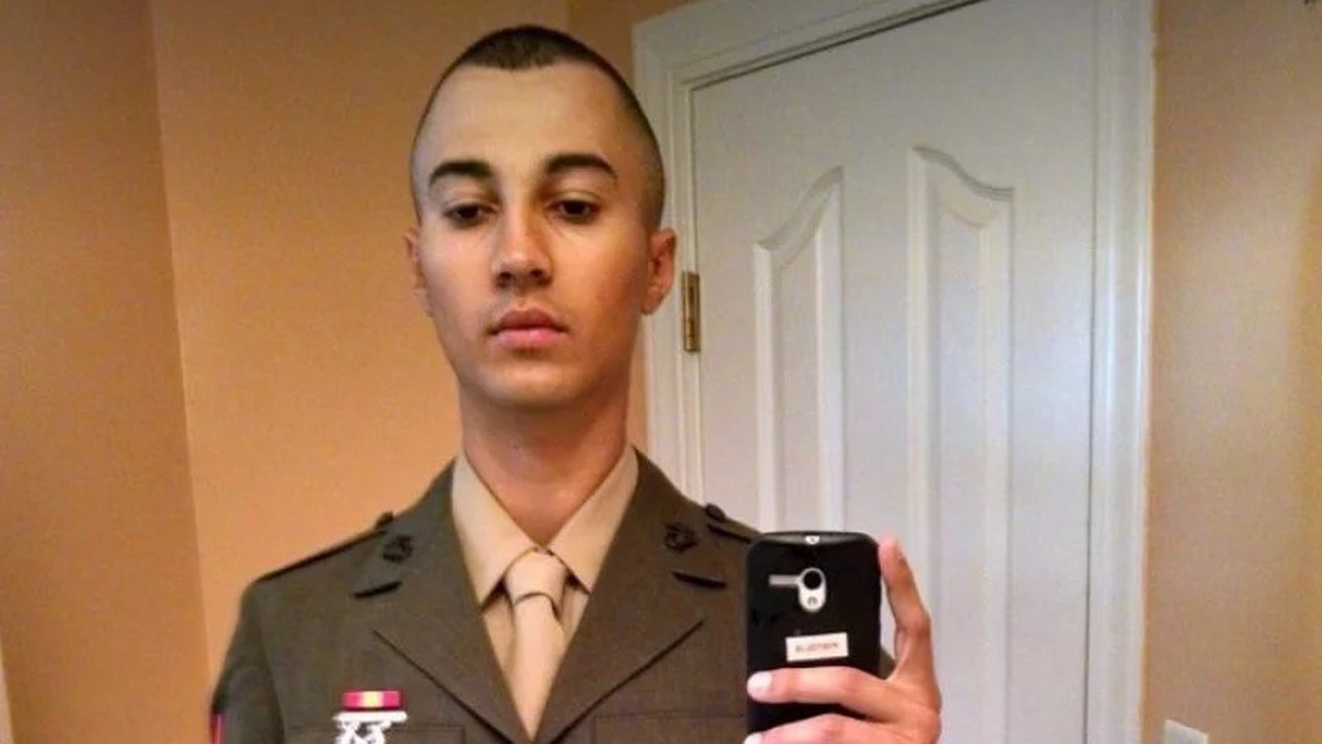 Marine Lance Cpl. Vasillios G. Pistolis was booted from Corps in July 2018 for his ties to a hate group. (Facebook screenshot from Vasili Pistolis)