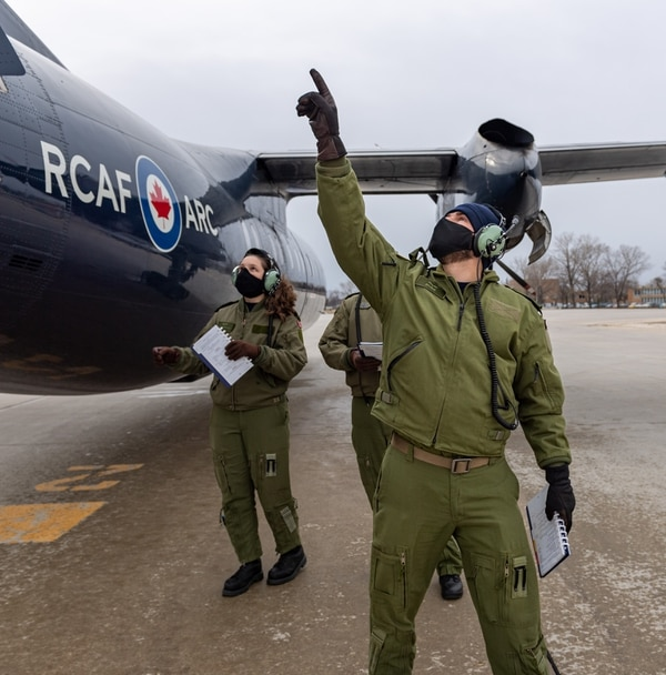 The Canadian government will issue a call for bids from defense firms next year for a multibillion-dollar contract to provide pilot and aircrew training for Royal Canadian Air Force personnel. (Royal Canadian Air Force)
